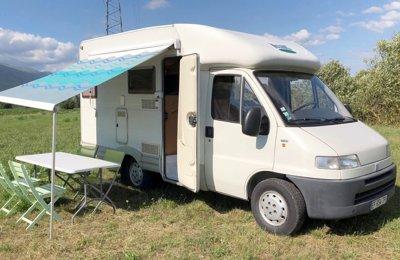 Camping-car Profilé Mac Louis Fiât Ducato en location à Thoiry