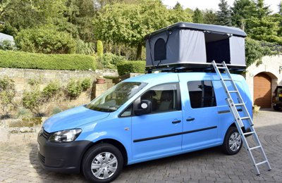 Converted van Vw Caddy Maxi For hire in Duffield