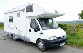 aff86ce815 Motorhome Coachbuilt Fiat Ducato For hire in Lochwinnoch
