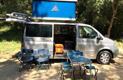 Camper Volkswagen Multivan Lleida en lloguer a Lleida