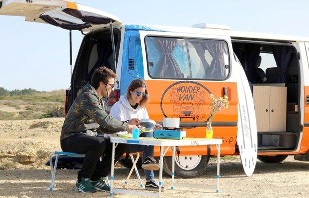 Camper Toyota Hiace rental