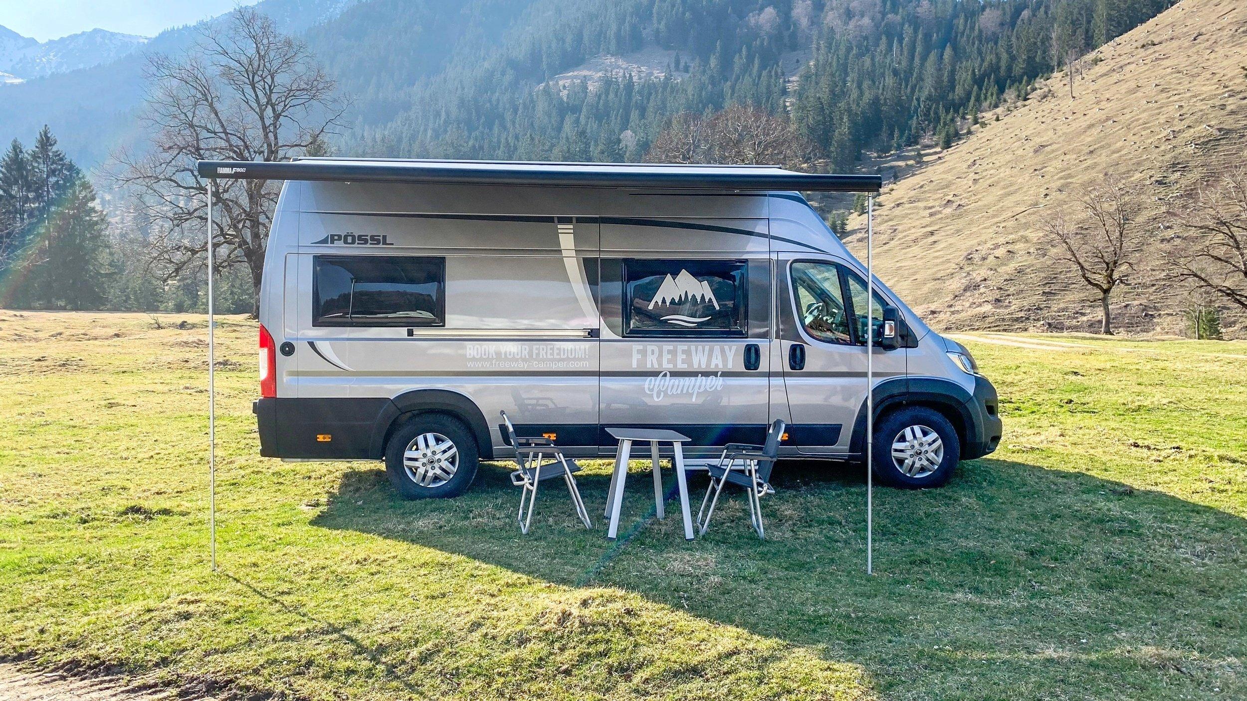 Rental Converted Van Untergiesing Harlaching Possl Roadcruiser Xl 2020 Yescapa