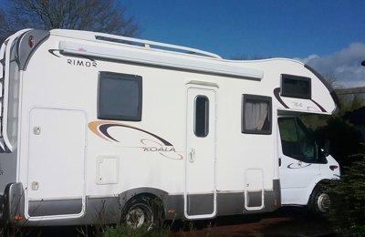 Camping-car Capucine Rimor Koala 44 en location à Moustoir-Ac