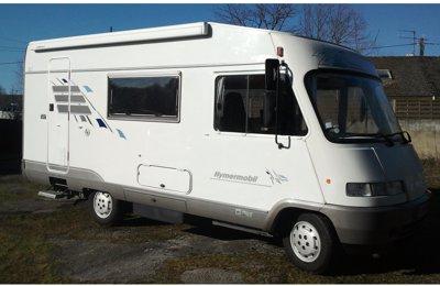 Camping-car Intégral Hymer B 564 en location à Vertou