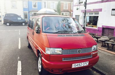 Campervan Volkswagon T4 For hire in Bristol
