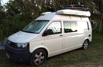 Campervan Volkswagen T5 California Lang, Langer Radstand zu vermieten in Hamburg