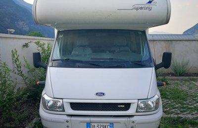 Camper Mansardato Rimor Superbrig 767 Tc condiviso a Calliano