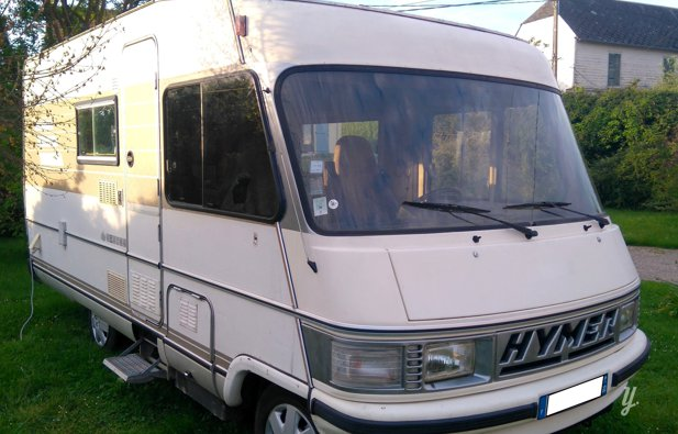 location camping car int gral hornoy le bourg hymer 564 1991 yescapa. Black Bedroom Furniture Sets. Home Design Ideas