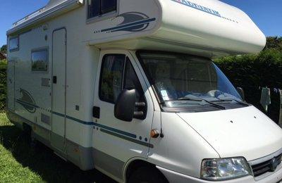 Camping-car Capucine Adria  Coral 630 Dk en location à Sceaux D'anjou