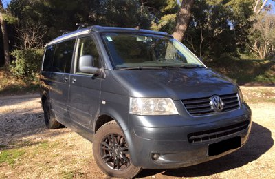 Van Volkswagen T5 California en location à Marseille