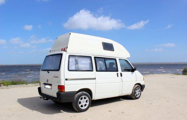 Aluguer de Campervan Volkswagen Westfalia