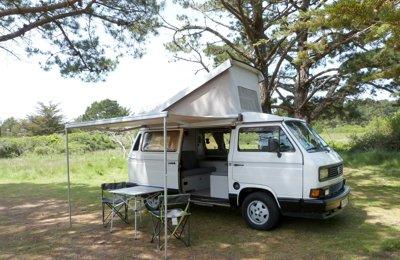 Camper Volkswagen T3 Atlantic For rent in Monterblanc