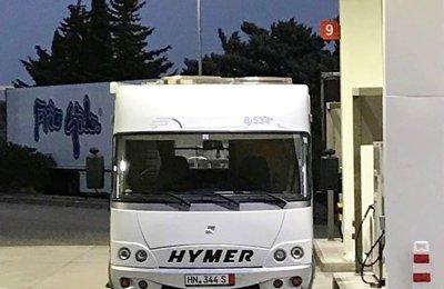 Autocaravana Integral Hymer B534 En alquiler en El Campello