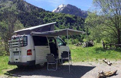 Furgoneta camper Volkswagen California Trendline En alquiler en Zaragoza
