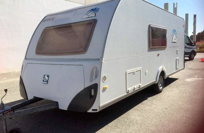 Caravan Knaustabbert Sudwind Azur For rent in Pinerolo