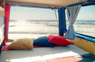 Campervan Ford Transit em aluguer em Porto