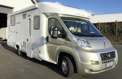 Camping-car Profilé Fleurette Maclister Lms73 en location à Villeneuve-D'ascq