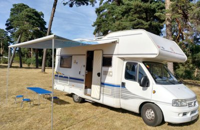 93a8405786 Coach-built Motorhome Lmc (Fiat) Liberty 641 Free Tec To rent in Quintanar