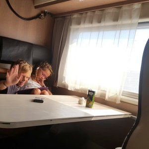 Coachbuilt motorhome rental - Javier