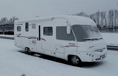 Camping-car Intégral Rapido 995M en location à La Rochelle