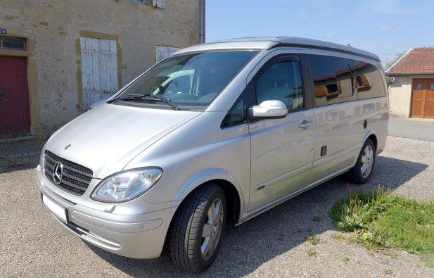 Location du Van Mercedes Marco Polo