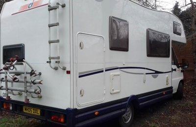 Motorhome Coachbuilt Fiat Ci Carioca 656 For rent in Edinburgh