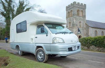 Motorhome Coachbuilt Toyota Liteace For hire in Lewes