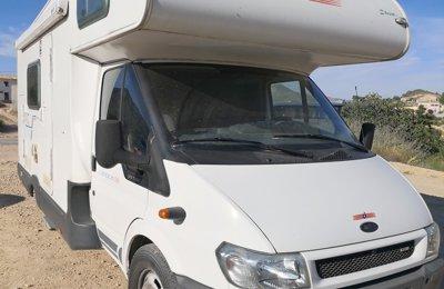 Autocaravana Capuchina Ford Transit Carioca En alquiler en Castalla