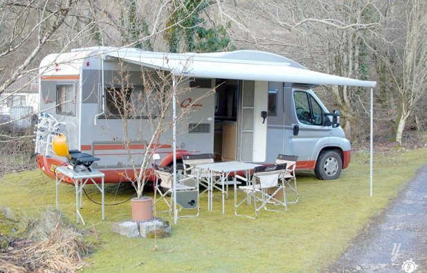 Low profile motorhome Burstner It664 rental