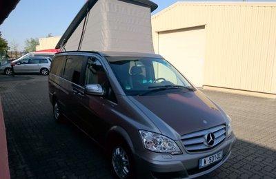 None Mercedes Viano Marco Polo  en location à Villejuif