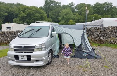 Converted van Nissan Elgrand For hire in Mansfield