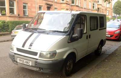 None Ford Transit For rent in Glasgow