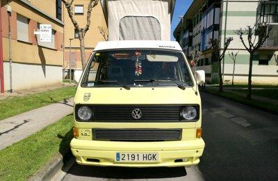 Furgonato Volkswagen T3 Westfalia condiviso a Astillero