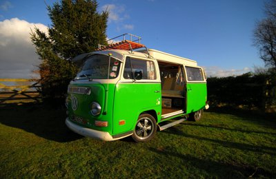 Campervan Vw T2 Bay Camper For hire in Sutton-On-The-Forest