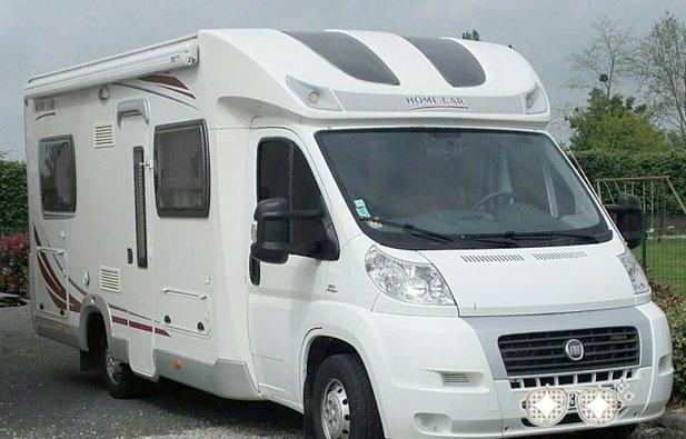 location camping car profil saint ouen du mesnil oger home car mobil partner p601 2008. Black Bedroom Furniture Sets. Home Design Ideas