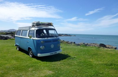 Campervan Vw T2 Motor Caravan For rent in Firsdown