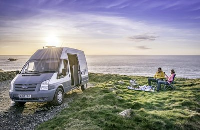 Converted van Ford Transit For rent in Newquay