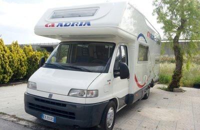 Camper Mansardato Fiat Adriatk 70Aa - V4 condiviso a Foggia
