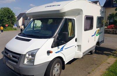 Camping-car Profilé Chausson Flash 02 en location à Vitré