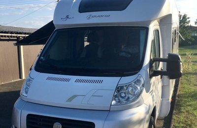 Camping-car Profilé Fiat Fiat/Bavaria en location à Hendaye