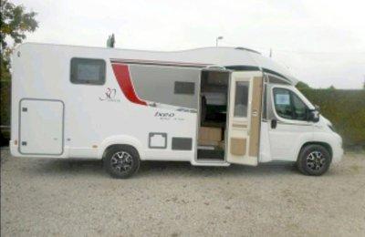 Wohnmobil Teilintegriert Burstner It 734 zu vermieten in Fontaine