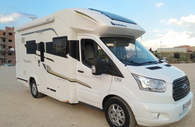 314f7fdbe4 Low profile motorhome Ford Transit Benimar Tessoro 483 To rent in Madrid