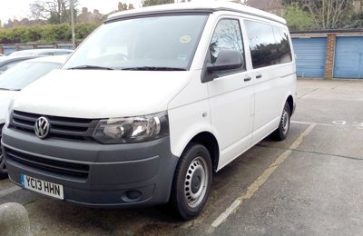 Converted van Vw T26 For hire in Manchester