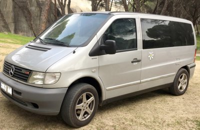 Converted van Mercedes Vito 112 Cdi For rent in Madrid