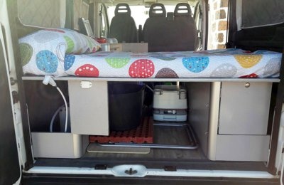 48b60f1b14 Campervan Fiat Ducato To rent in La oliva